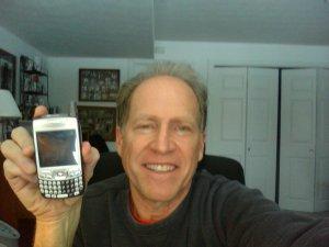 Bob Ullman & his Palm Treo