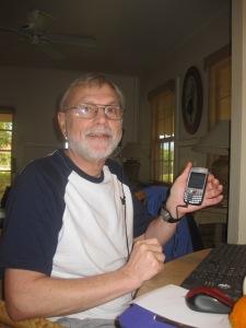 Rob Kenyon & his Palm Treo
